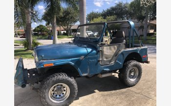 1972 Jeep CJ-5 for sale 101624695