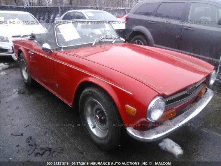 1972 Triumph TR6 for sale 101101537