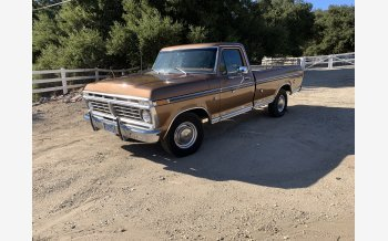 1973 Ford F100 2WD Regular Cab for sale 101442546