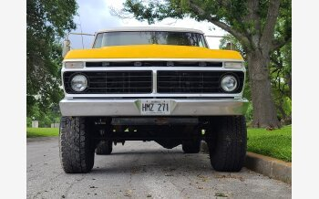 1973 Ford F250 4x4 Regular Cab for sale 101538019
