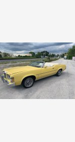 1973 Mercury Cougar for sale 101099730