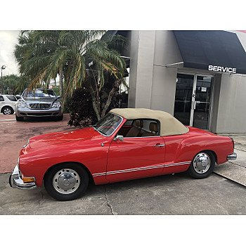 1973 Volkswagen Karmann-Ghia for sale 101145409