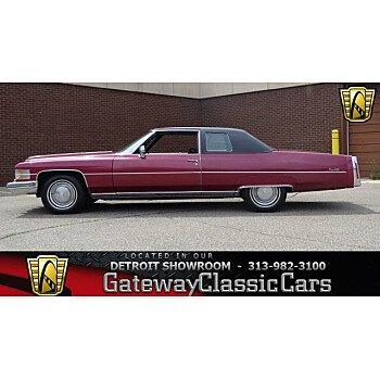 1974 Cadillac De Ville for sale 100999381