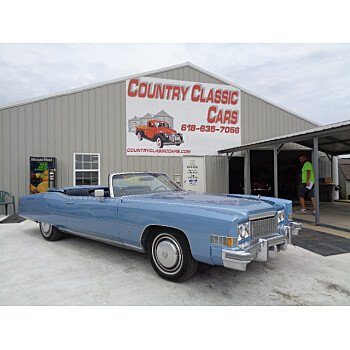 1974 Cadillac Eldorado for sale 101026347