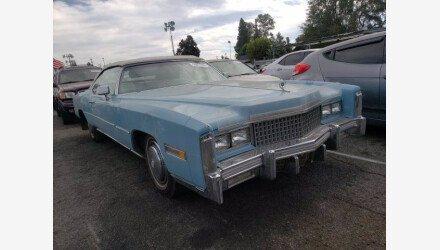 1975 Cadillac Eldorado for sale 101413148