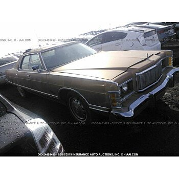 1975 Mercury Marquis for sale 101102386