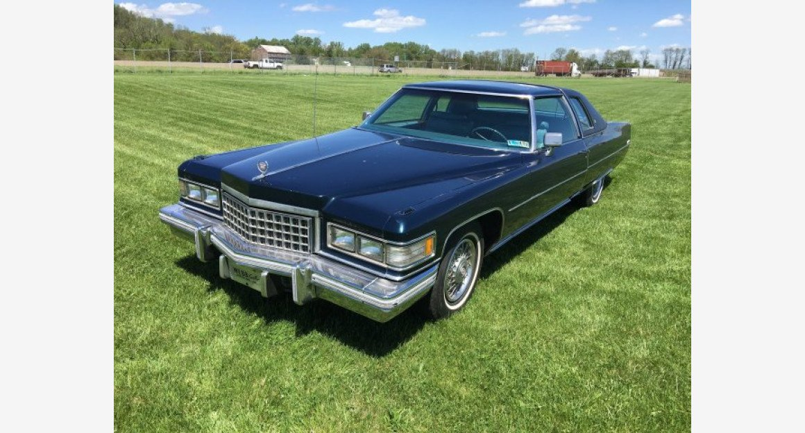1976 Cadillac De Ville for sale 100960672