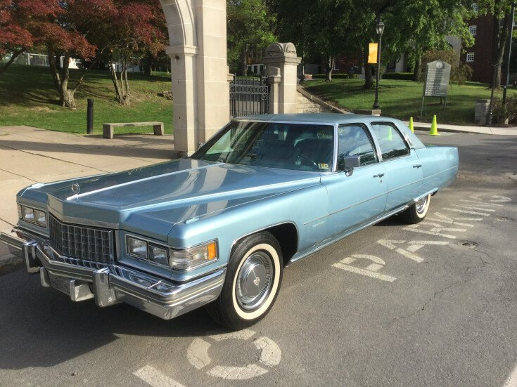 1976 Cadillac Fleetwood Brougham for sale 101590479
