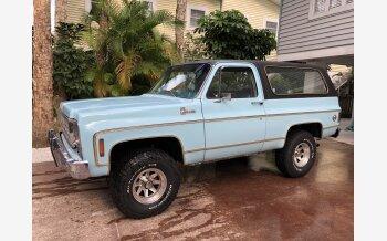 1977 Chevrolet Blazer 4WD 2-Door for sale 101094465