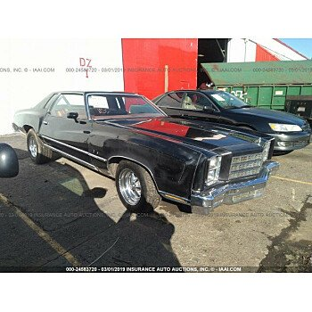 1977 Chevrolet Monte Carlo for sale 101101747