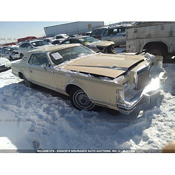 1977 Lincoln Continental for sale 101103521