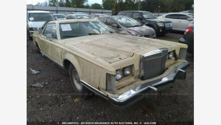 1977 Lincoln Continental for sale 101125928