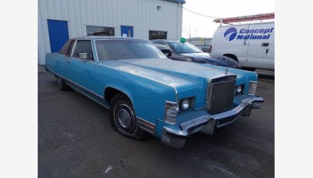 1977 Lincoln Continental for sale 101494193