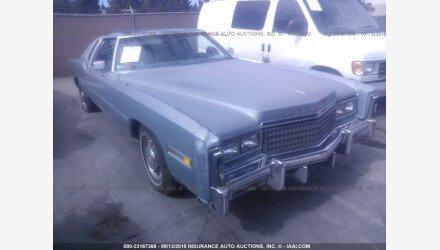 1978 Cadillac Eldorado for sale 101102420