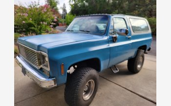 1978 Chevrolet Blazer 4WD 2-Door for sale 101562417