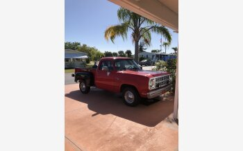 1978 Dodge D/W Truck 2WD Regular Cab D-100 for sale 101110400
