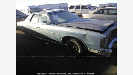 1978 Ford LTD for sale 101102517