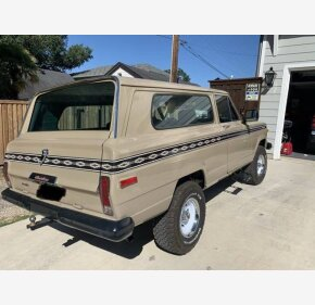 1978 Jeep Cherokee for sale 101387685