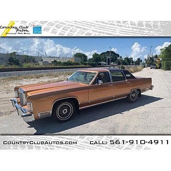 1978 Lincoln Continental for sale 101132794