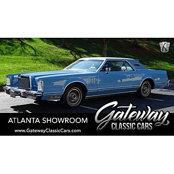 1978 Lincoln Continental for sale 101238076