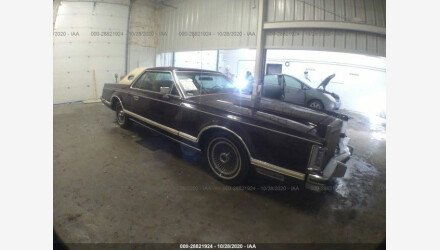 1978 Lincoln Continental for sale 101409923