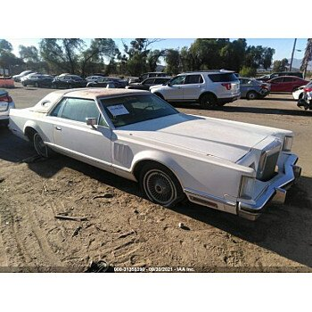 1978 Lincoln Continental for sale 101619374
