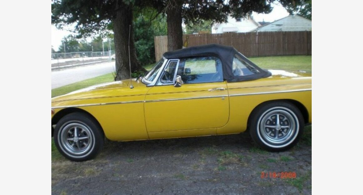 1978 MG MGB for sale 100829729