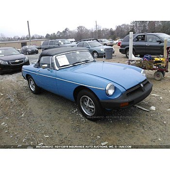 1978 MG MGB for sale 101102241