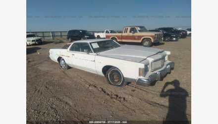 1978 Mercury Grand Marquis for sale 101409379