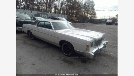 1978 Mercury Marquis for sale 101232718