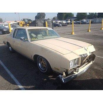 1978 Oldsmobile Cutlass for sale 101412288