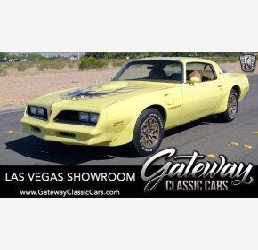 1978 Pontiac Firebird Trans Am for sale 101344466