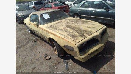 1978 Pontiac Firebird for sale 101349482