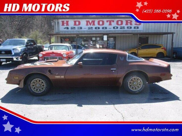 1978 Pontiac Firebird Trans Am for sale 101531981