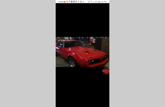 1978 Pontiac Firebird Formula for sale 101365069