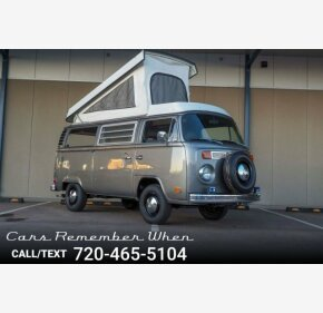 1978 Volkswagen Vans for sale 101251642