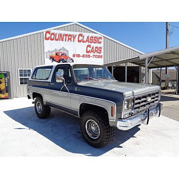 1979 Chevrolet Blazer for sale 101008738