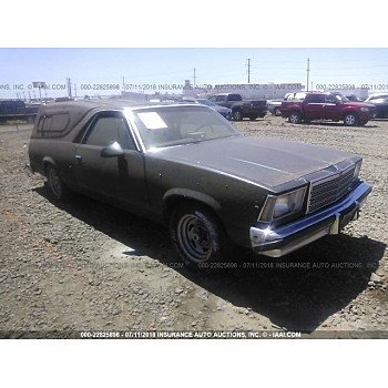 1979 Chevrolet El Camino for sale 101015233