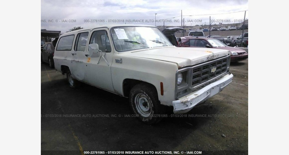 1979 Chevrolet Suburban for sale 101015045