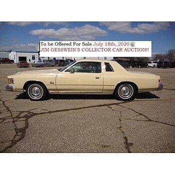 1979 Chrysler Cordoba for sale 100982533