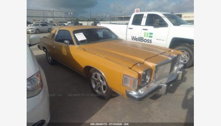 1979 Chrysler Cordoba for sale 101349485