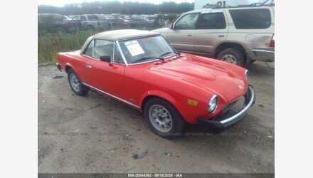 1979 FIAT Spider for sale 101408386