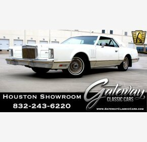 1979 Lincoln Continental for sale 101092469