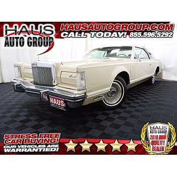 1979 Lincoln Continental for sale 101385231
