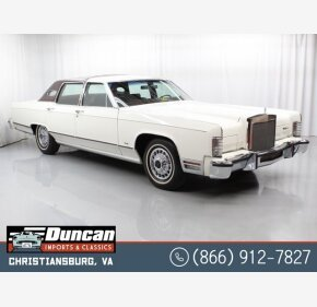 1979 Lincoln Continental for sale 101429715
