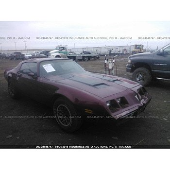 1979 Pontiac Firebird for sale 101120811