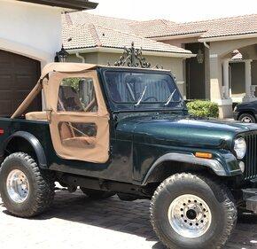1980 Jeep CJ-7 for sale 100990587