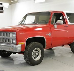 1981 Chevrolet Blazer 4WD for sale 101178006