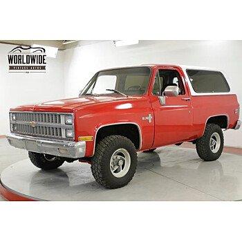 1981 Chevrolet Blazer 4WD for sale 101178006