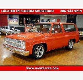 1981 Chevrolet Blazer 2WD for sale 101390078